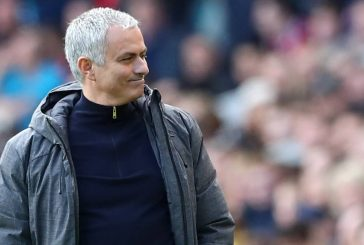 Jose Mourinho reacts to Manchester United's 3-1 win over Middlesbrough