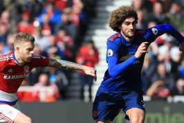 Marouane Fellaini produces powerful performance against Middlesbrough