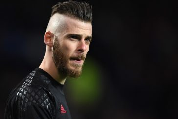 David de Gea back in training ahead of Manchester United's Anderlecht clash