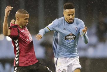 Celta Vigo forward Theo Bongonda ready to join Manchester United