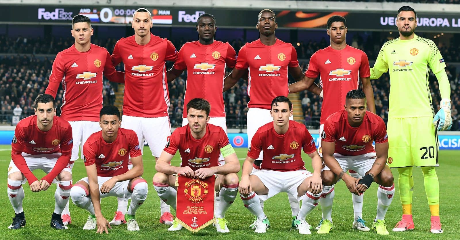 Manchester United Vs Anderlecht Potential Xi With Ibrahimovic And Mkhitaryan