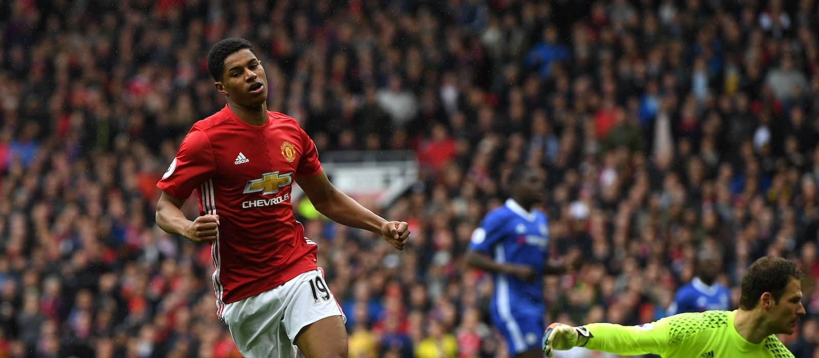 Manchester United vs Chelsea: Potential XI with Marcus Rashford up front