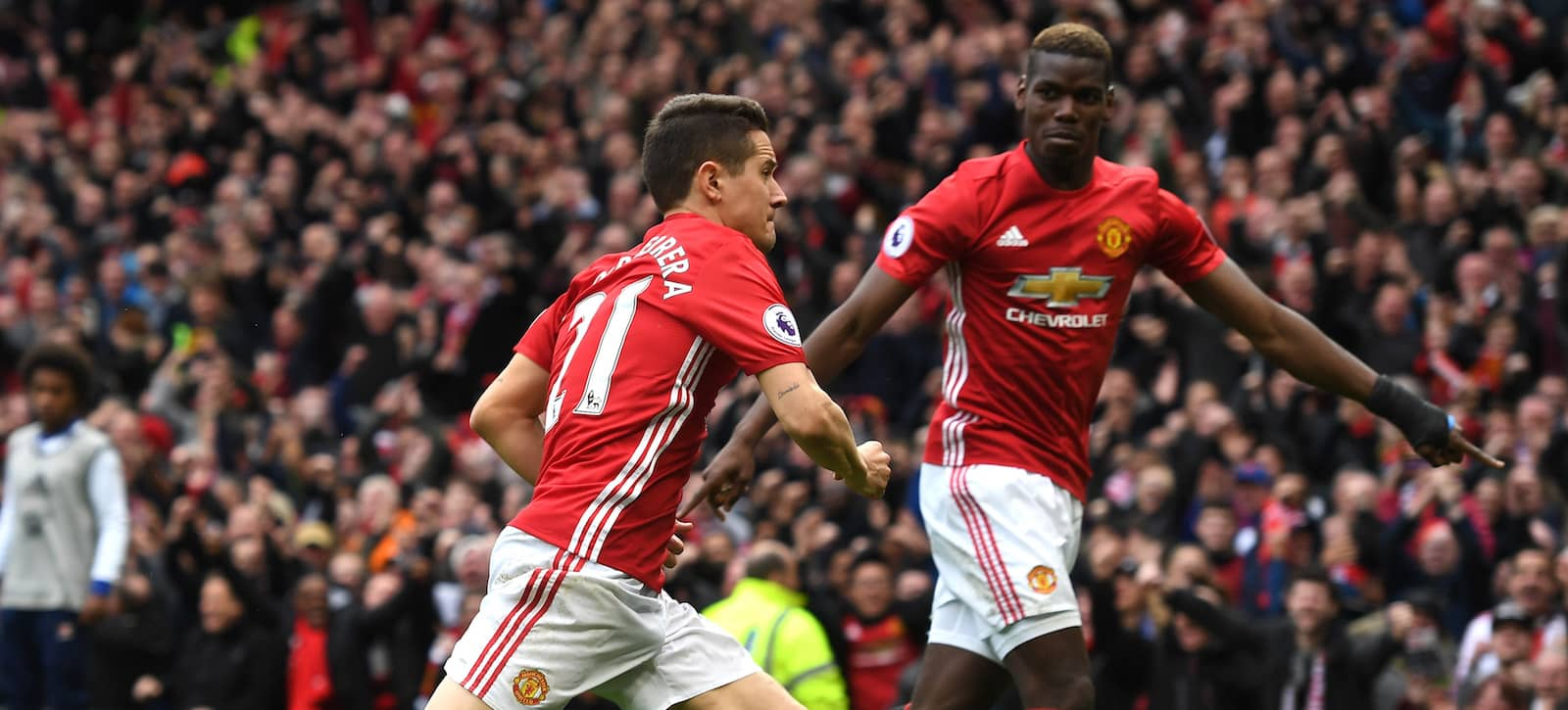 Ander Herrera suggests Man United's Paul Pogba is inconsistent