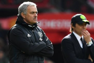 Jose Mourinho reveals he met with Antonio Conte following Old Trafford clash in February