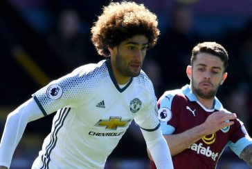 Marouane Fellaini set to miss Liverpool clash with knee ligament injury