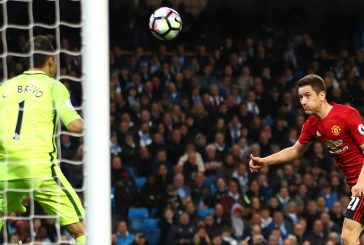 Ander Herrera reacts to reaching the Europa League final