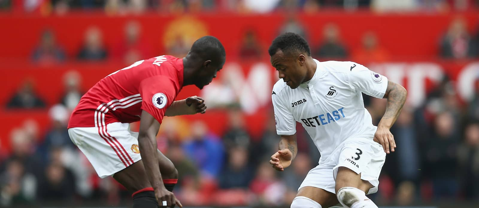Eric Bailly produces superb defensive display against Swansea City