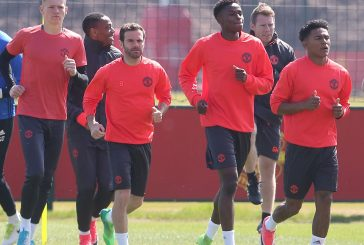 Photos: Manchester United training gallery ahead of Crystal Palace clash
