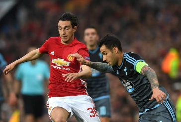 Manchester United's Matteo Darmian picks up knock during Italy's failure