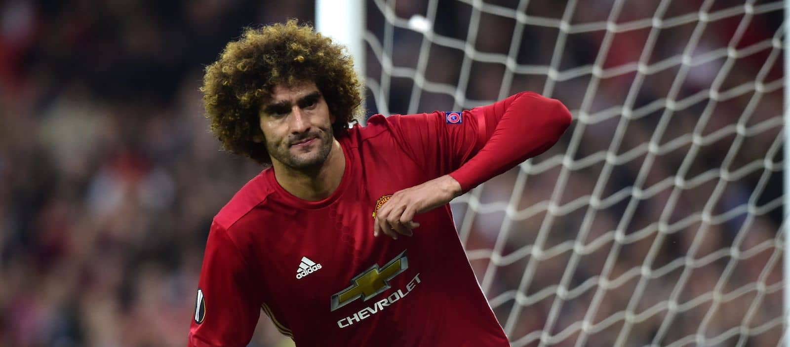 Fellaini reacts to new found popularity at Manchester United