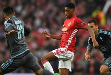 Rio Ferdinand reacts to Marcus Rashford's performance against Celta Vigo
