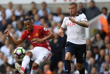 Anthony Martial produces bright display against Tottenham Hotspur
