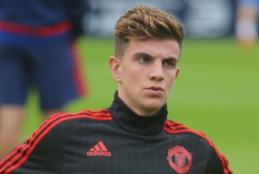 Josh Harrop scores wonderful hat-trick as Man United U23s beat Spurs 3-2