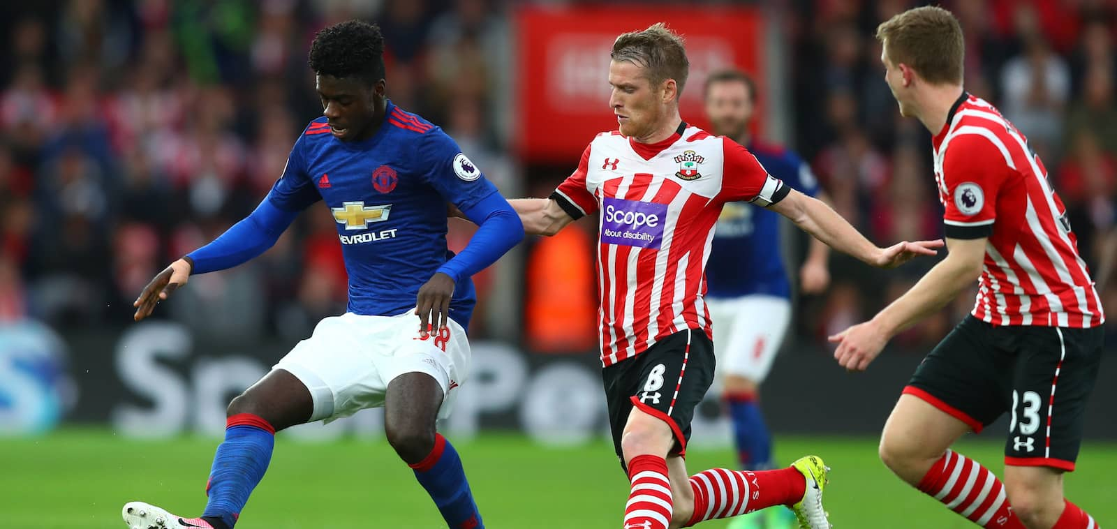 Manchester United fans pleased with Axel Tuanzebe's performance against Southampton