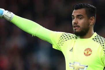 Jose Mourinho confirms Sergio Romero will miss FA Cup semi-final clash with Tottenham Hotspur