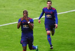 Paul Pogba reacts to winning Europa League final with Manchester United