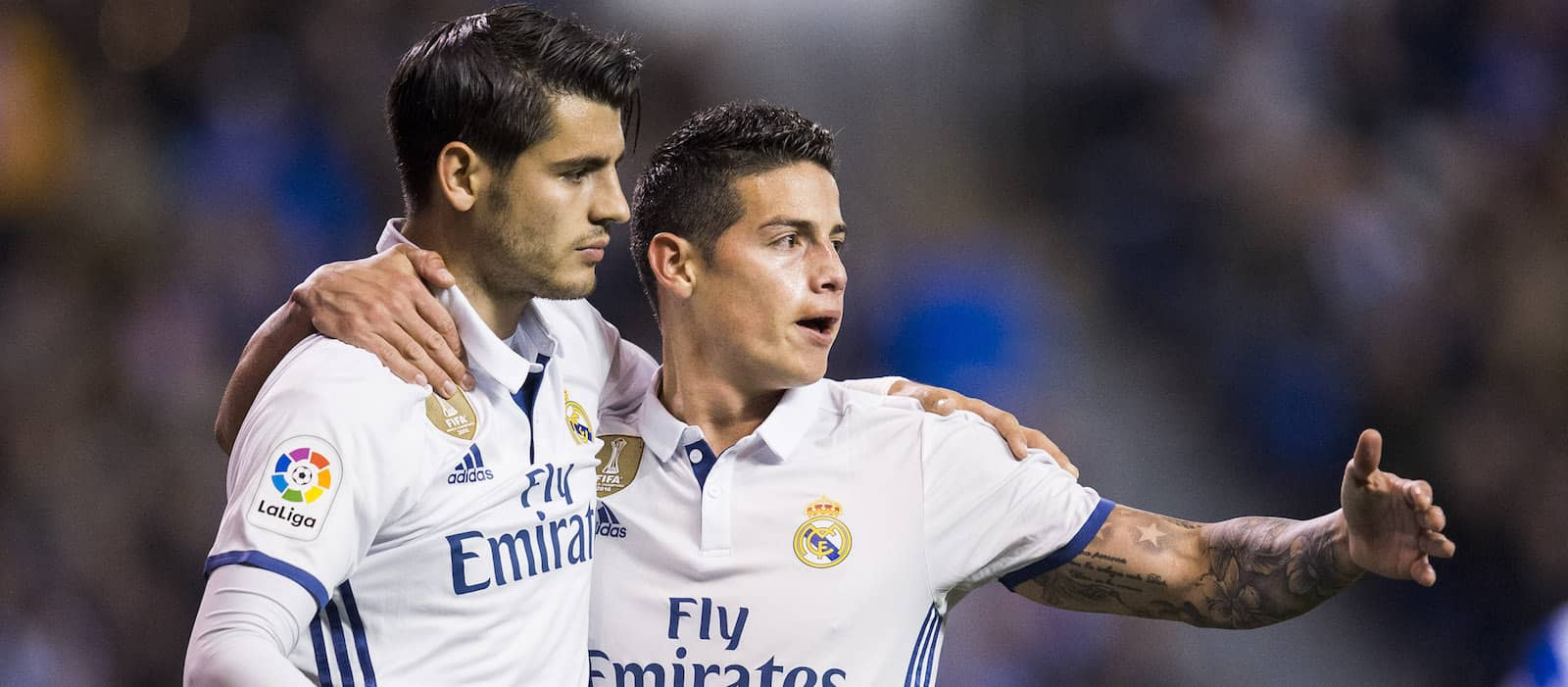 Radamel Falcao offers Real Madrid's James Rodriguez advice ahead of potential Manchester United move