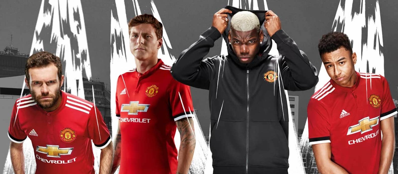 787500aee Official  Manchester United release 2017 18 home kit by Adidas
