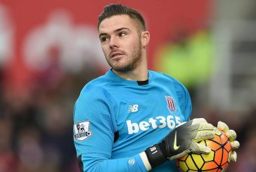 Stoke City goalkeeper Jack Butland wants to play at Manchester United