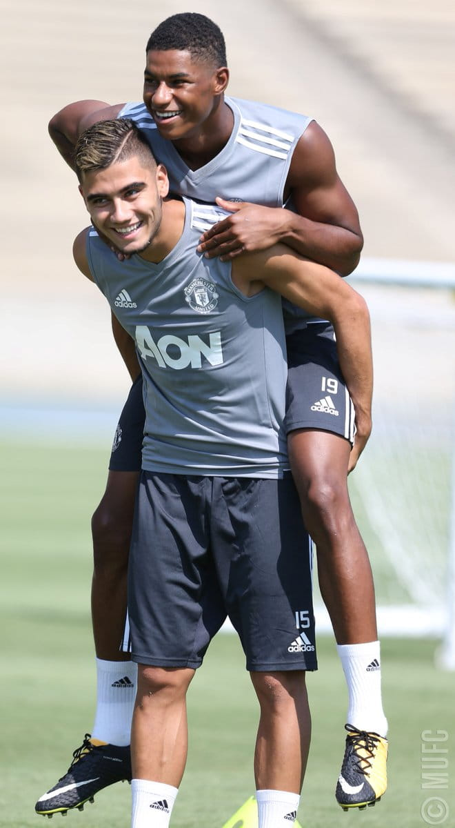 Andreas Pereira happy to be back at Manchester United following Granada loan spell