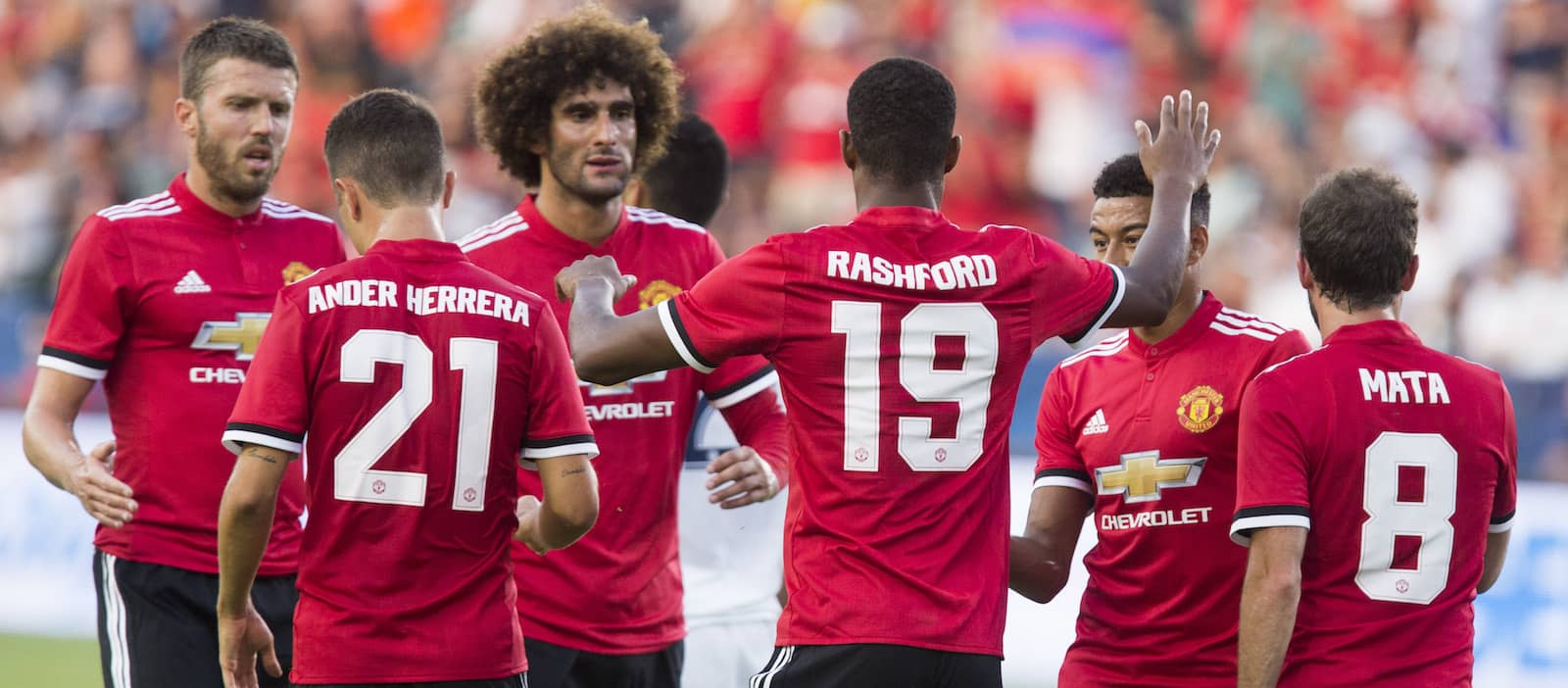 How could Manchester United line-up against Salt Lake City?