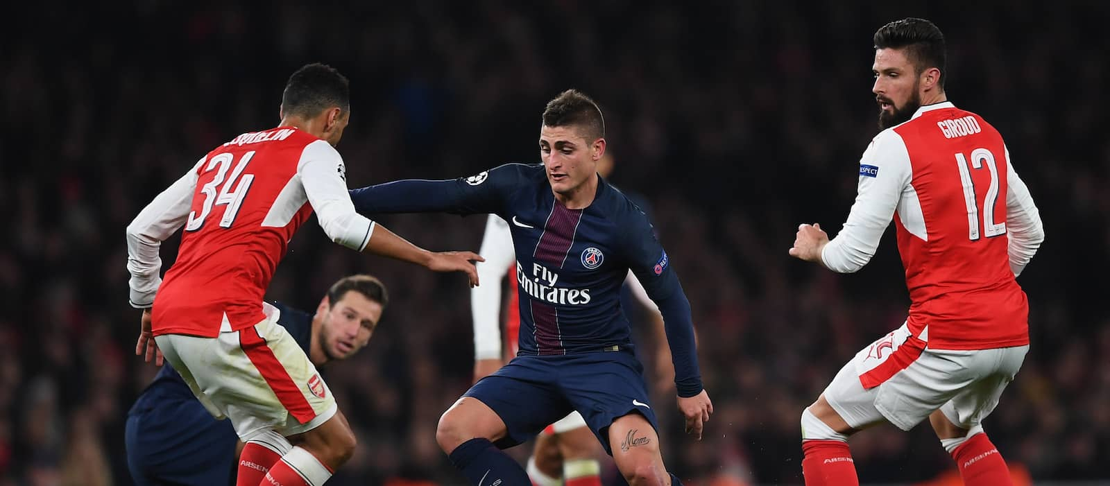 Marco Verratti a doubt for Manchester United clash after suffering fresh injury