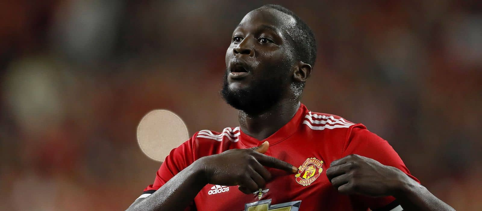 Romelu Lukaku sends message to Manchester United fans after scoring against Manchester City