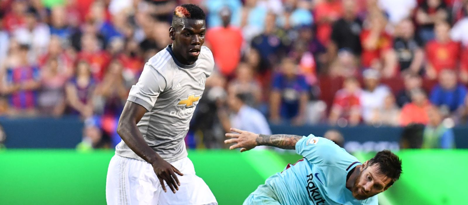 Manchester United fans delighted with Paul Pogba's performance against Barcelona