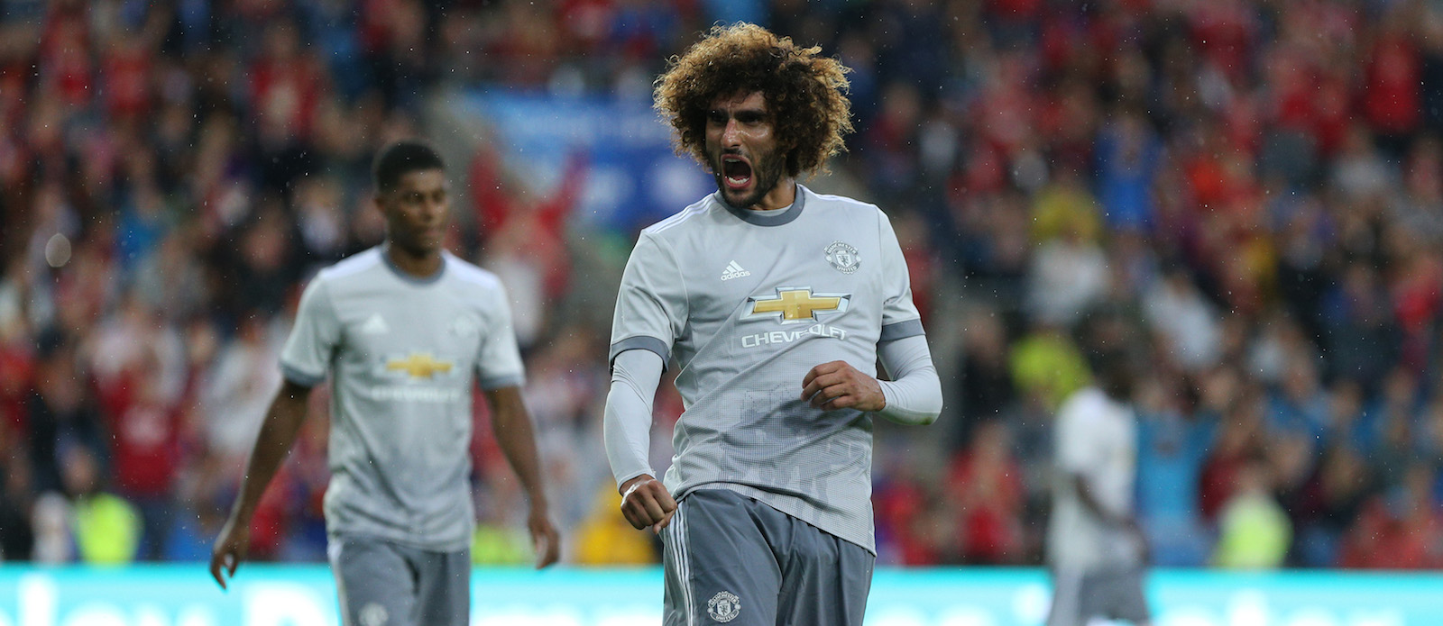 From France: Marouane Fellaini holds talks with Marseille over potential move