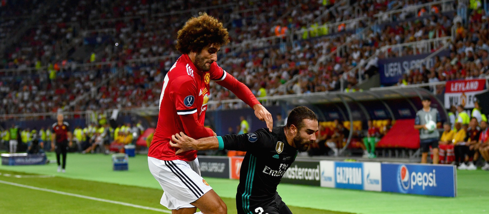 Jose Mourinho speaks out about Marouane Fellaini's knee ligament injury