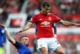 Henrikh Mkhitaryan puts in superb performance for Manchester United in 4-0 victory against Everton