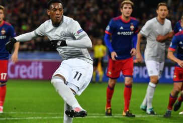 Manchester United fans delighted with Anthony Martial's performance against CSKA Moscow