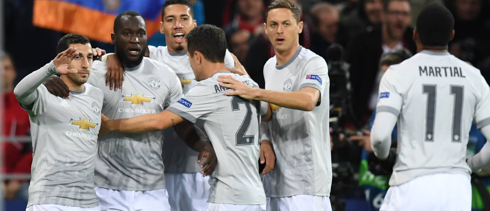 Chris Smalling full of praise for Romelu Lukaku at Manchester United