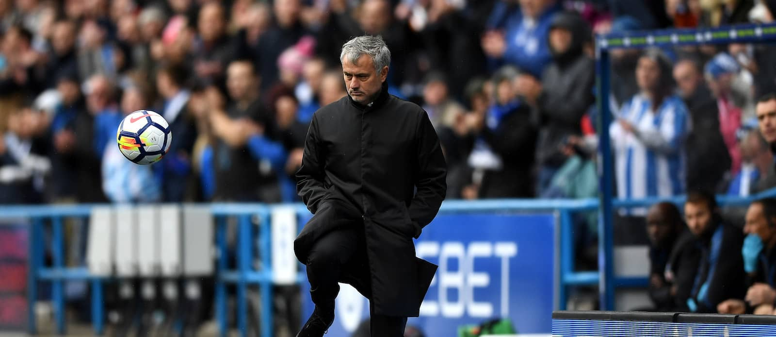 Jose Mourinho blames Manchester United's attitude for 2-1 defeat at Huddersfield Town