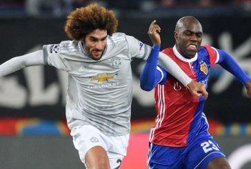Video: Marouane Fellaini picks up injury moments after coming on against Tottenham Hotspur