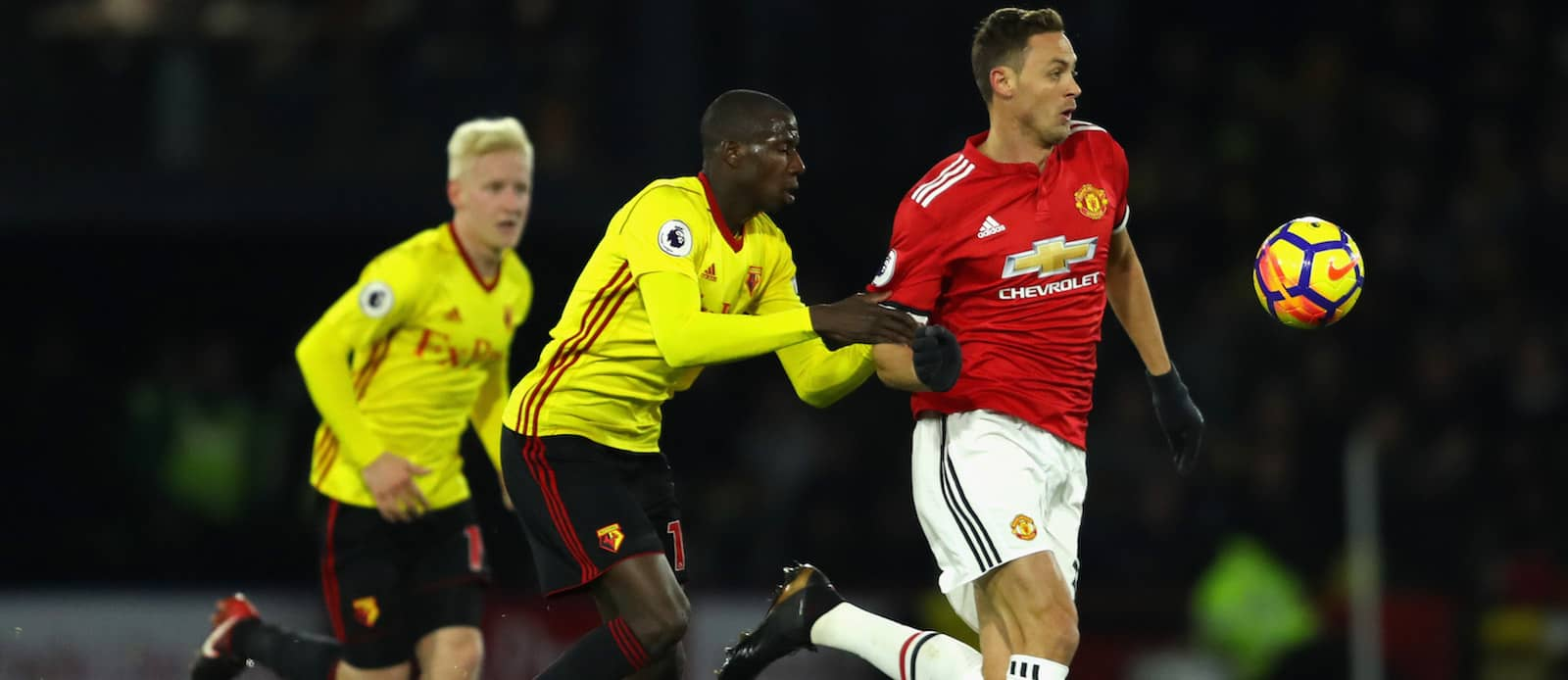 Matic asked to e off with a muscular injury against Watford