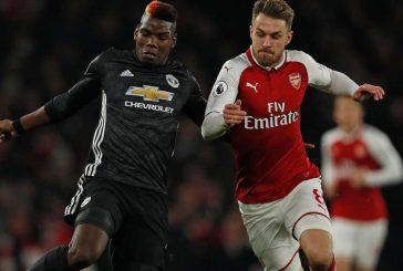 Paul Pogba left frustrated by actions of France teammate Laurent Koscielny ahead of midfielder's sending off vs Arsenal