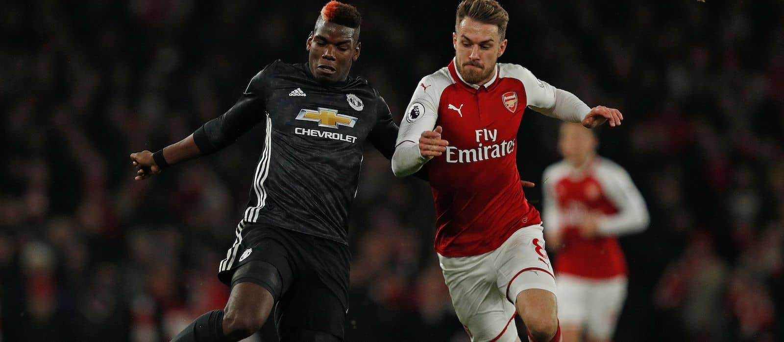 Paul Pogba produces decisive display against Arsenal despite late red card