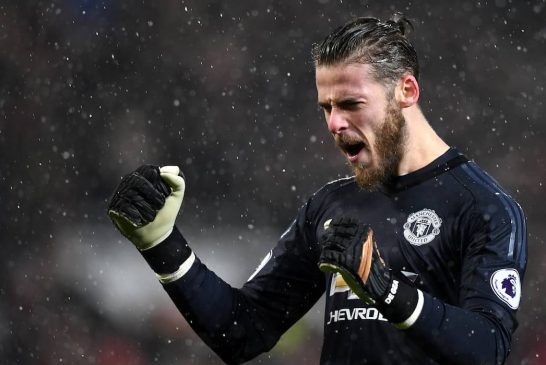 David de Gea wins UEFA Champions League 'Player of the Week' award following superb Sevilla performance