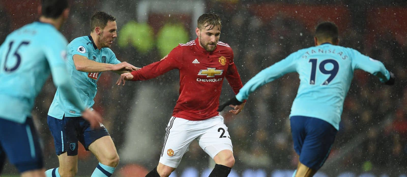 Everton closely monitoring Luke Shaw's situation at Manchester United – report