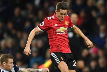 Ander Herrera denies deliberately spitting on the Manchester City badge during derby victory