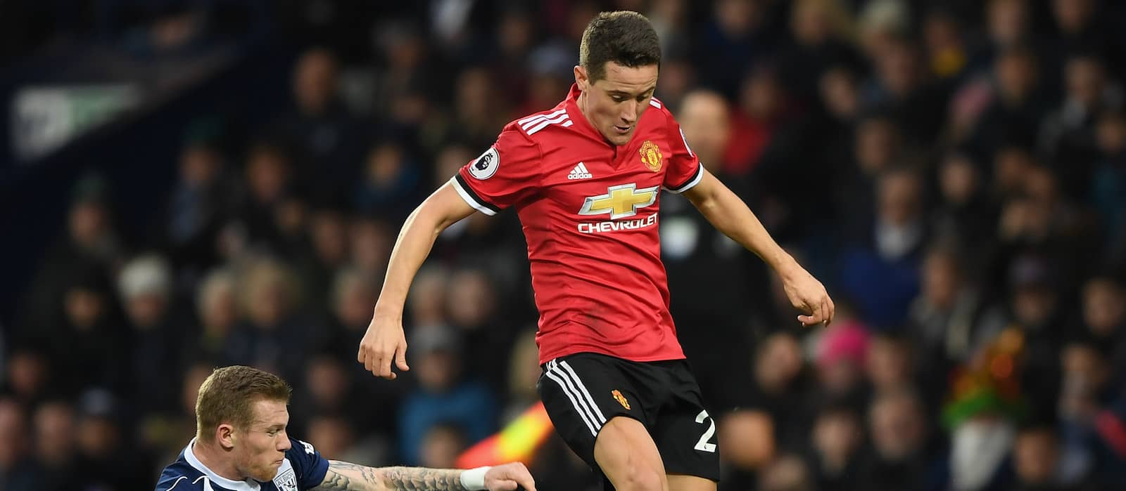 "Jose Mourinho confirms Ander Herrera will be out for ""a few weeks"" with hamstring injury"