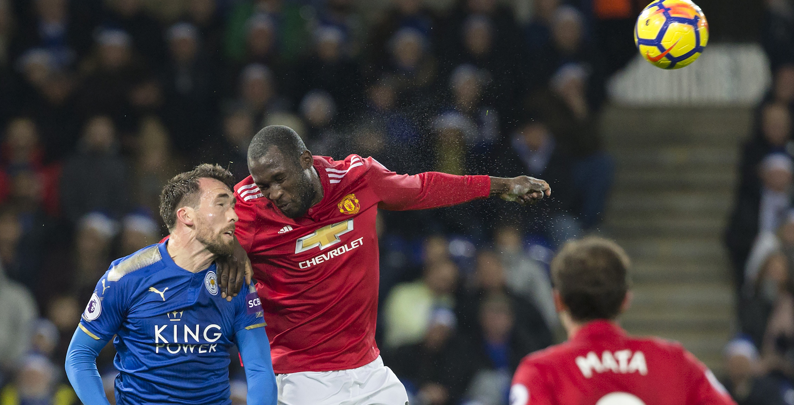 Headstrong Romelu Lukaku rises above mentally weak Manchester United attack at Leicester City
