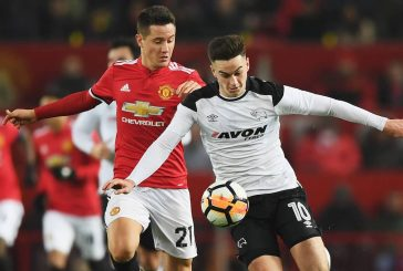 Ander Herrera claims Manchester United's win against Derby was one of their best performances of the season