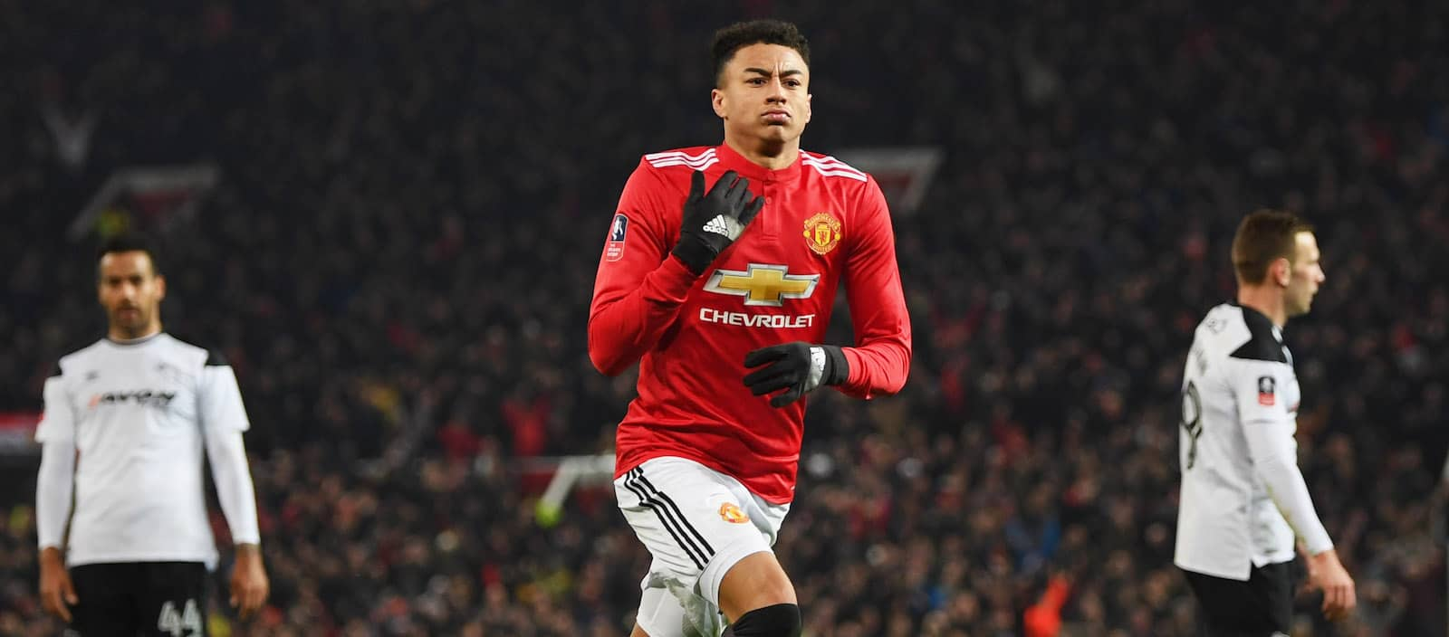 Jesse Lingard continues world class form to save the day for Manchester United against Derby County