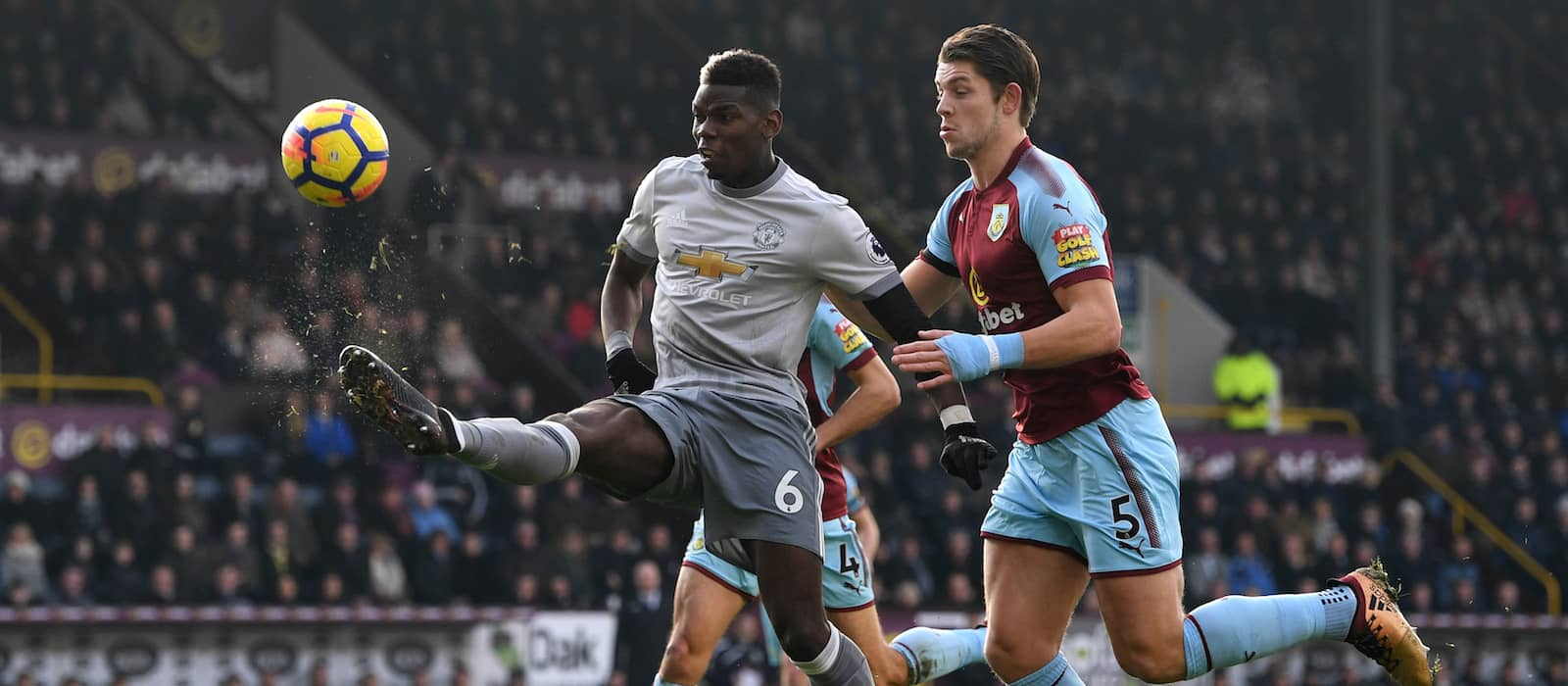 3 chances created, 4 take-ons: Paul Pogba continues fantastic form against Burnley