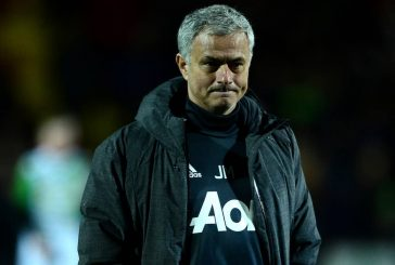Jose Mourinho reveals what he said to his players at half time against Crystal Palace