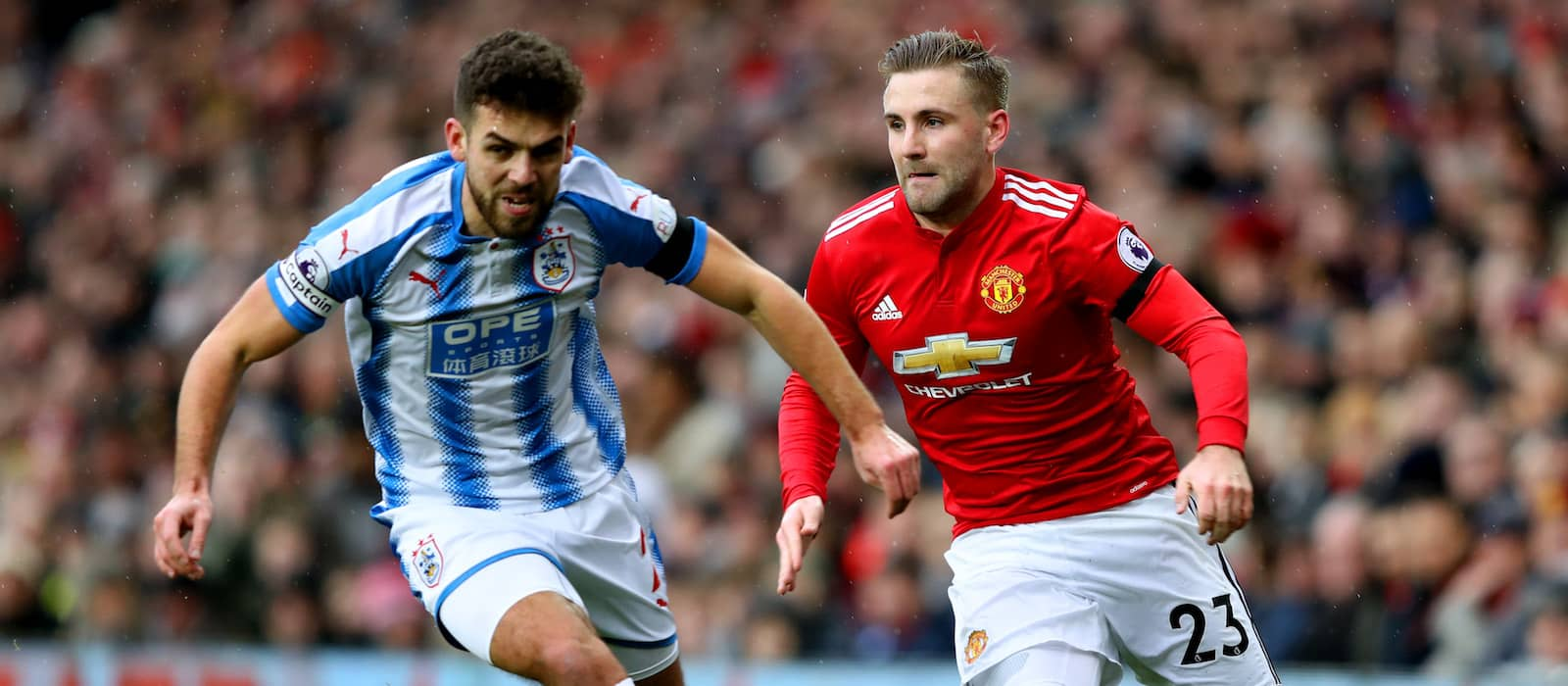 Luke Shaw: Everyone is fighting for a position at Manchester United