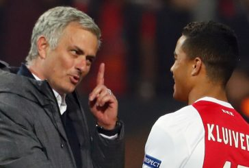 Edwin van der Sar claims Mino Raiola is pushing Manchester United target Justin Kluivert towards Ajax exit