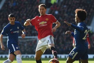 Nemanja Matic excited by Manchester United youngsters Angel Gomes and Tahith Chong